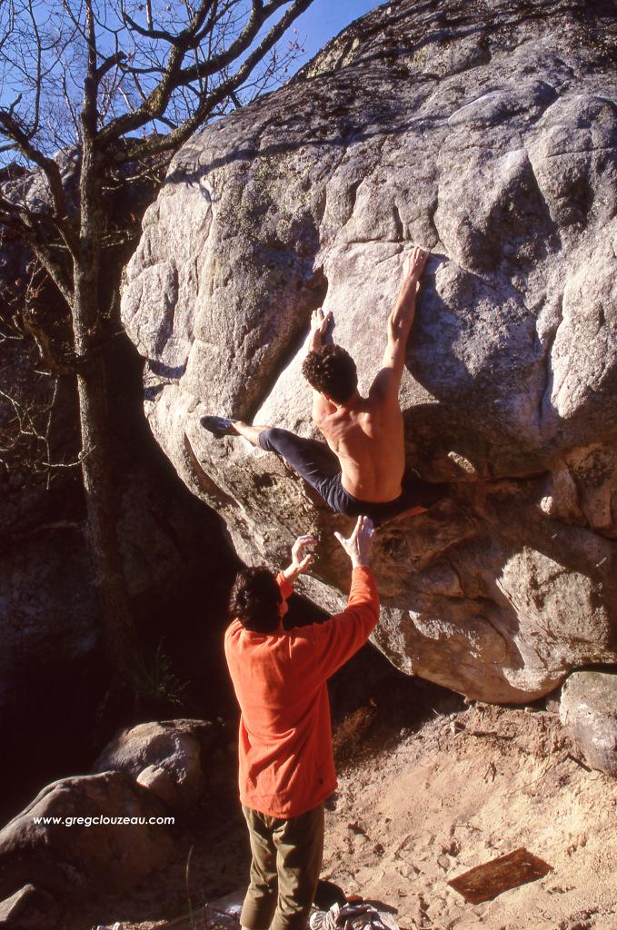 Christian Roumégoux dans Atrésie, 8A, 90's, (C) Greg Clouzeau
