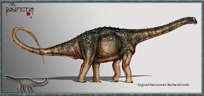 dinosaurios de Argentina Argentinosaurus