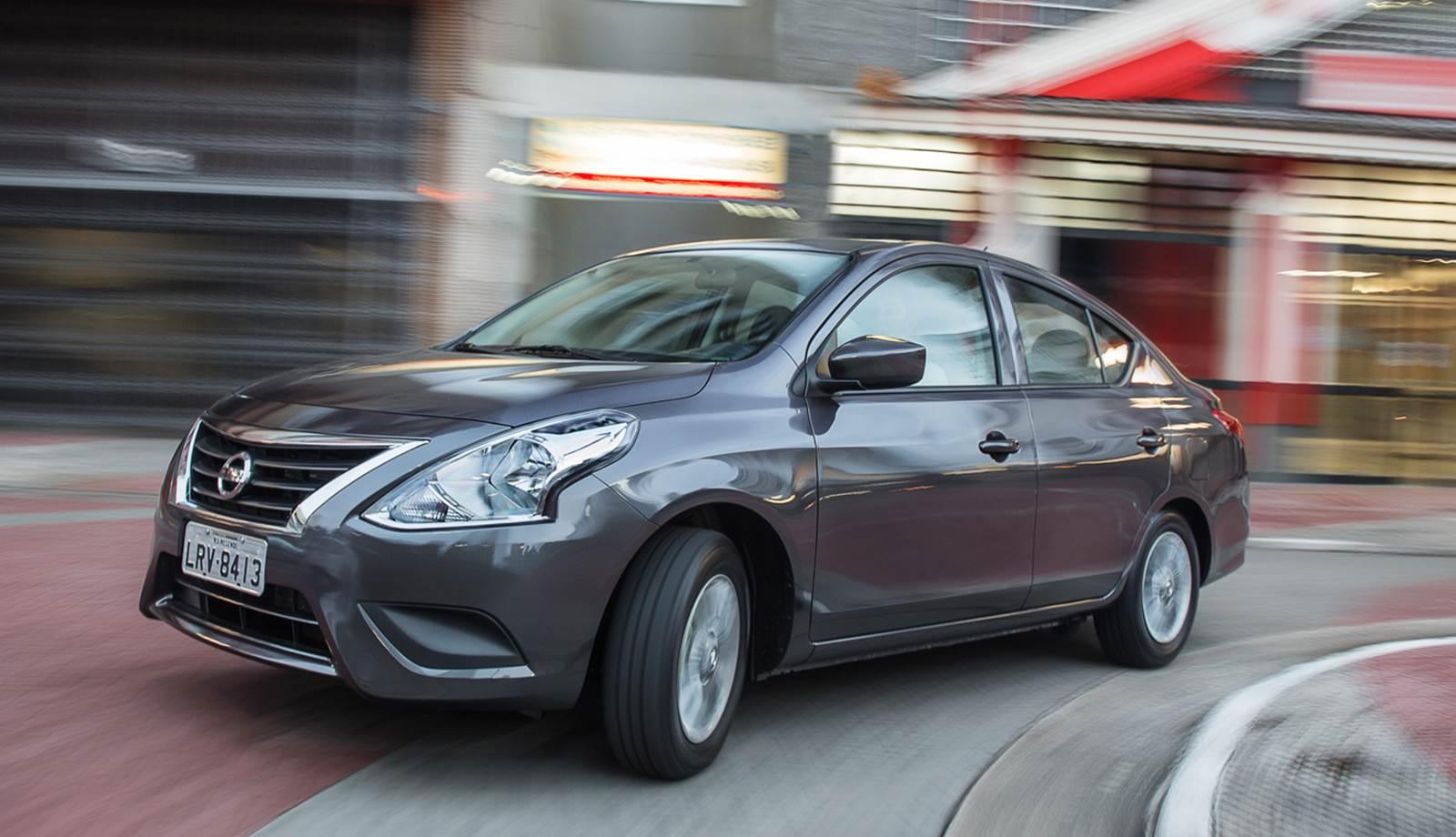 Novo Nissan Versa 2015