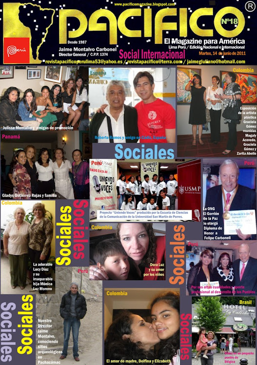 Revista Pacífico Nº 18 social internacional
