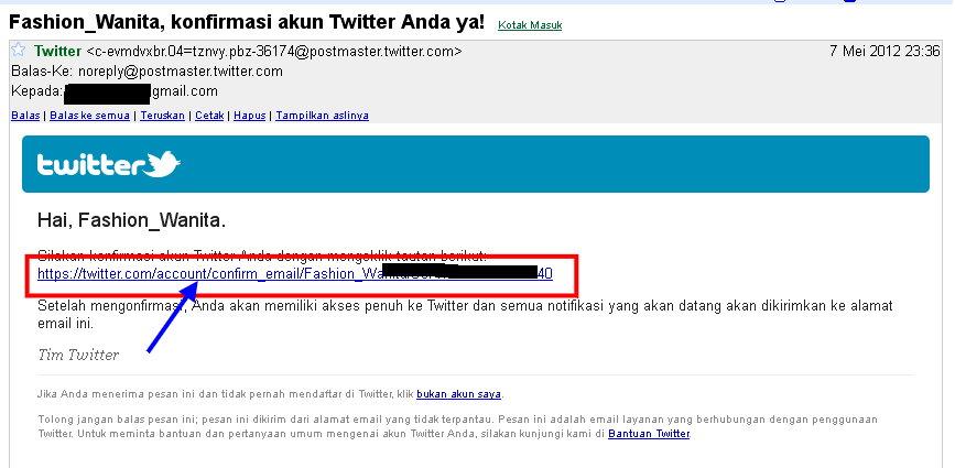 Email Konfirmasi