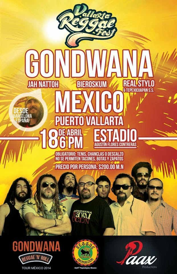 Gondwana en Puerto Vallarta Mexico
