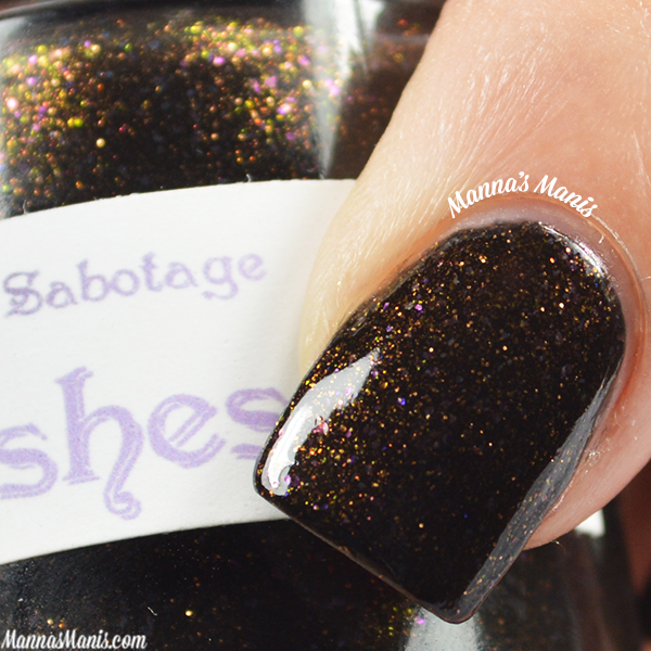 The Lady Varnishes Master of Suspense Sabotage swatches