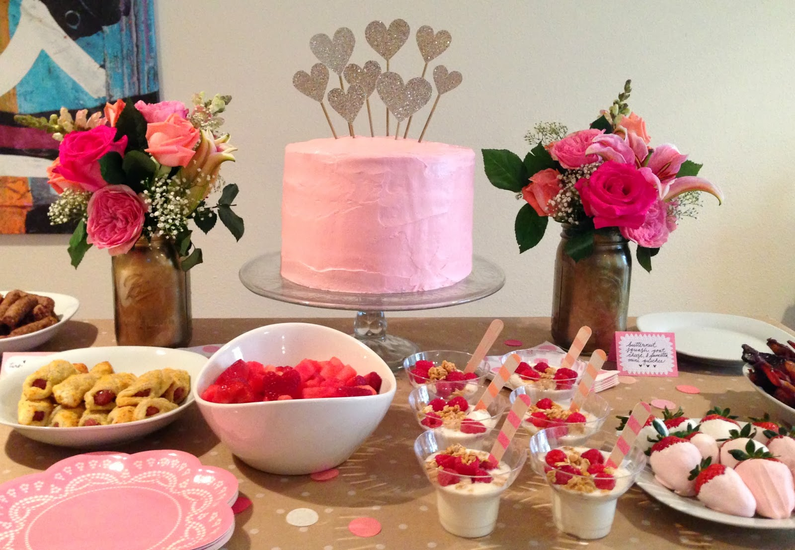 Yesterday, I Hosted A Valentineu0027s Brunch For Ten Or So Friends That Was So  Jam Packed With Girly Goodness That I Had To Share It Here, Despite Only  Snapping ...