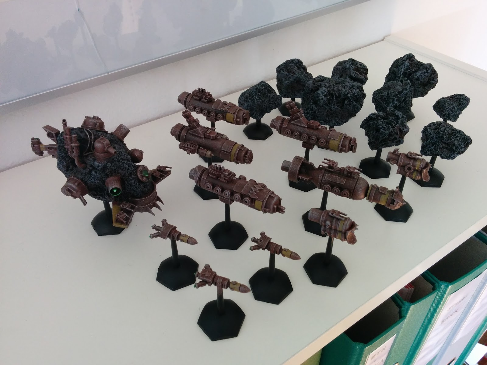 Admin Tom's scratch built Battlefleet Gothic Ork Fleet IMG_20150419_162359