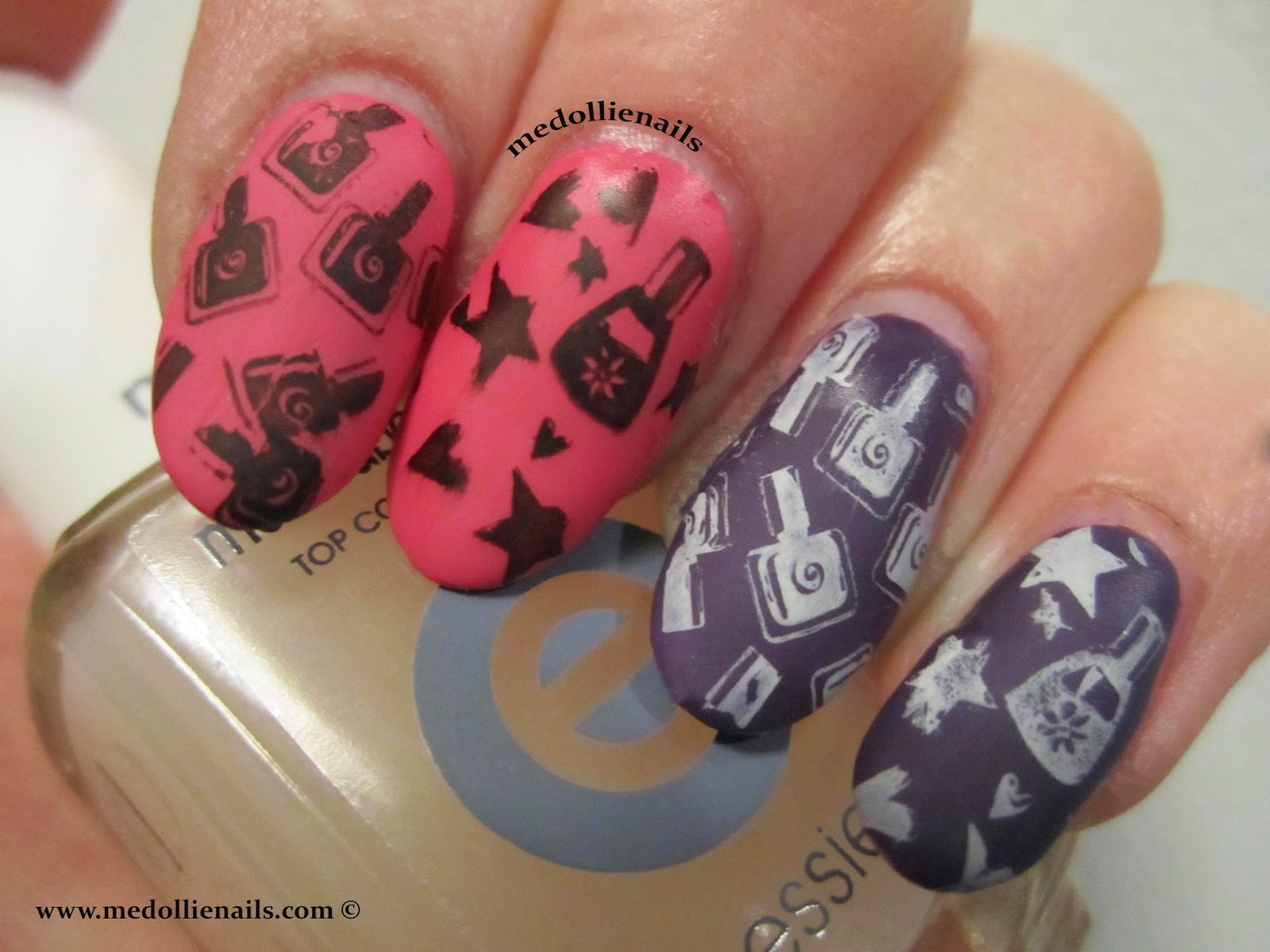I Really Love This Super Cute And Awesome Nail Polish Stamping Plate From Www Bornpretty Here Is The Direct Link To