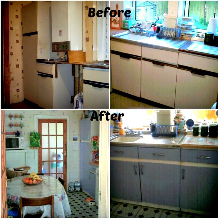 Cottage Kitchen Remodel On A Budget: Rosie's Cottage: Rosie's Too Fabulous (On A Tiny Budget