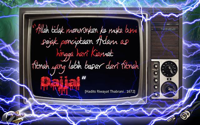 Wallpaper Islamik - Fitnah Dajjal