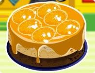 العاب طبخ كيك بالبرتقال