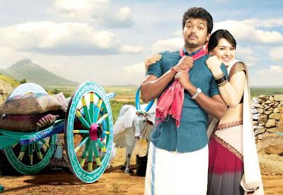 Vijay and Hansika Motwani Pictures from Velayudham Tamil Movie