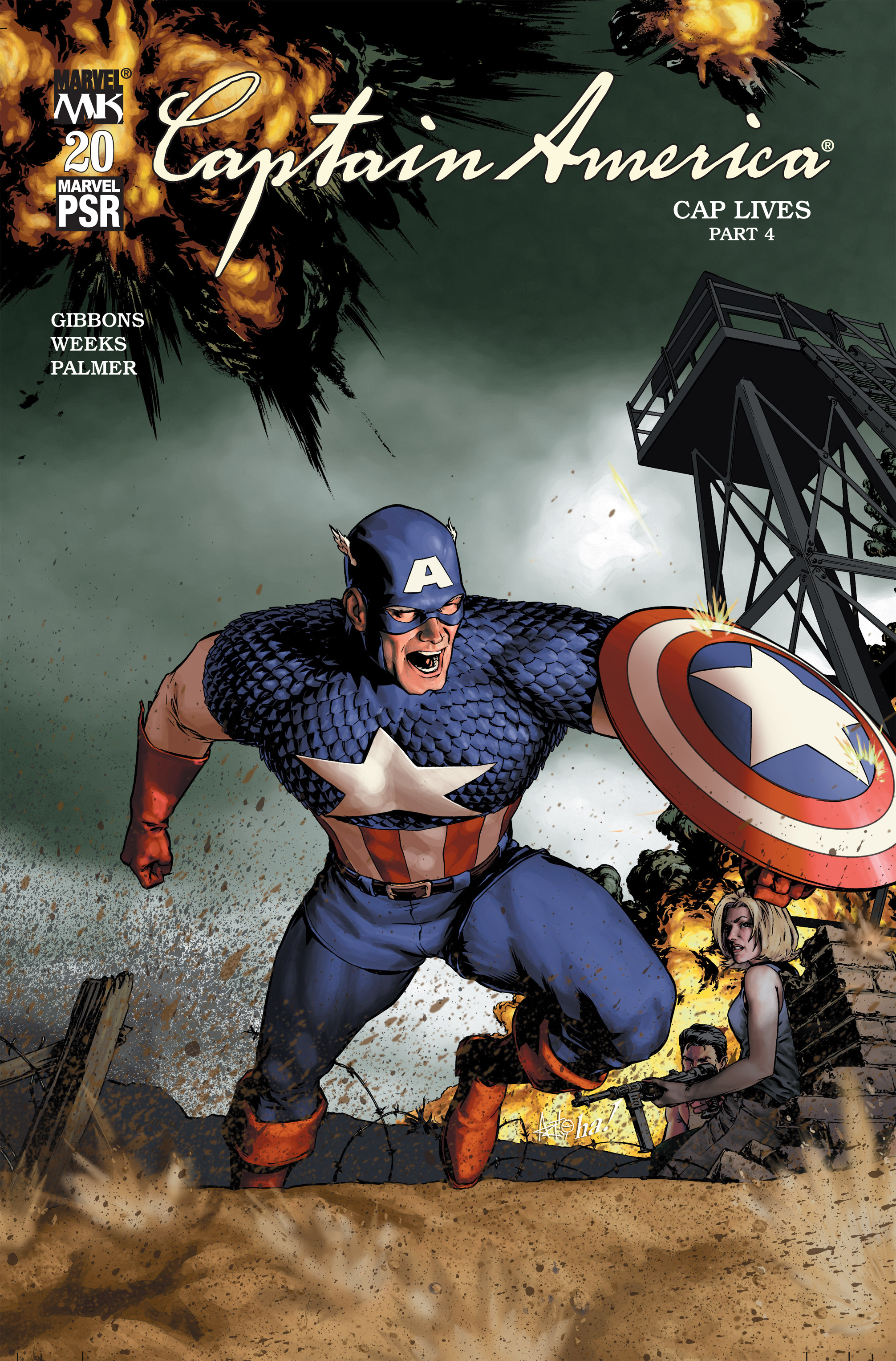 Captain America (2002) Issue #20 #21 - English 1