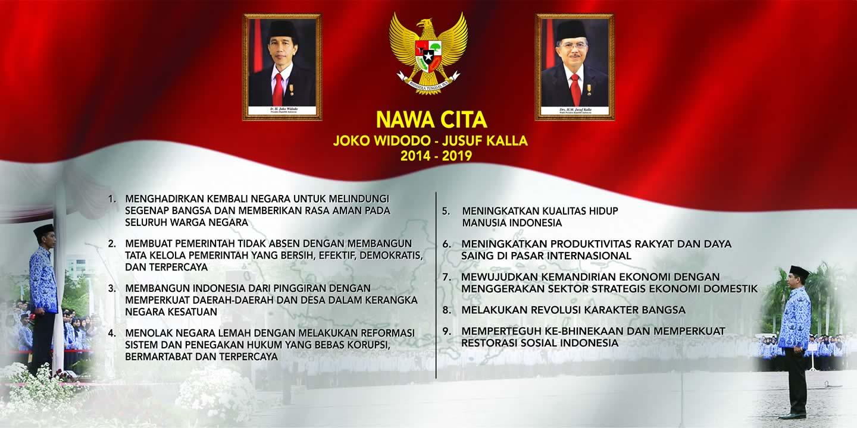 Download Nawa Cita Presiden Joko Widodo Jokowi Jusuf