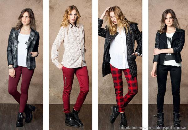 Nucleo Moda otoño invierno 2014. Moda abrigos invierno 2014.