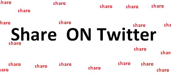 chia se bai viet Twitter trong blogger, chia sẻ văn bản lên Twitter trong blogger