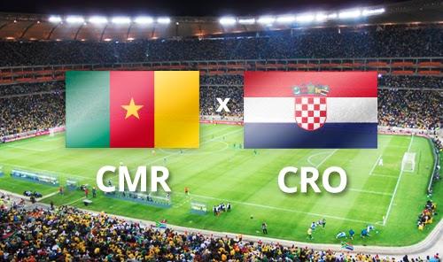 Camerún 0 - 4 Croacia. Grupo A