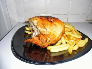 Pollo asado en o...