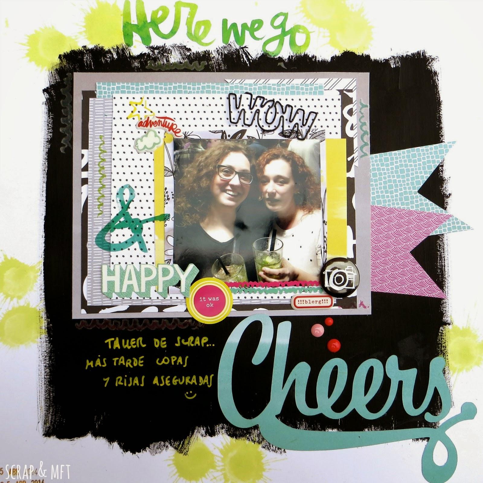 Sonrisa amor feliz gracias maravilloso Cheers Álbum de Recortes Pegatinas sellos