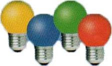 Modelos de Lâmpadas Coloridas