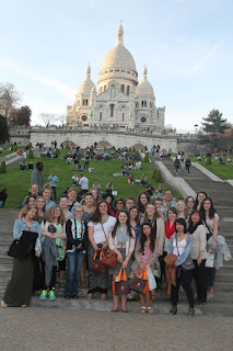 Art Students in Paris April 2015