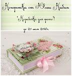 Конфетка - коробочка для фото