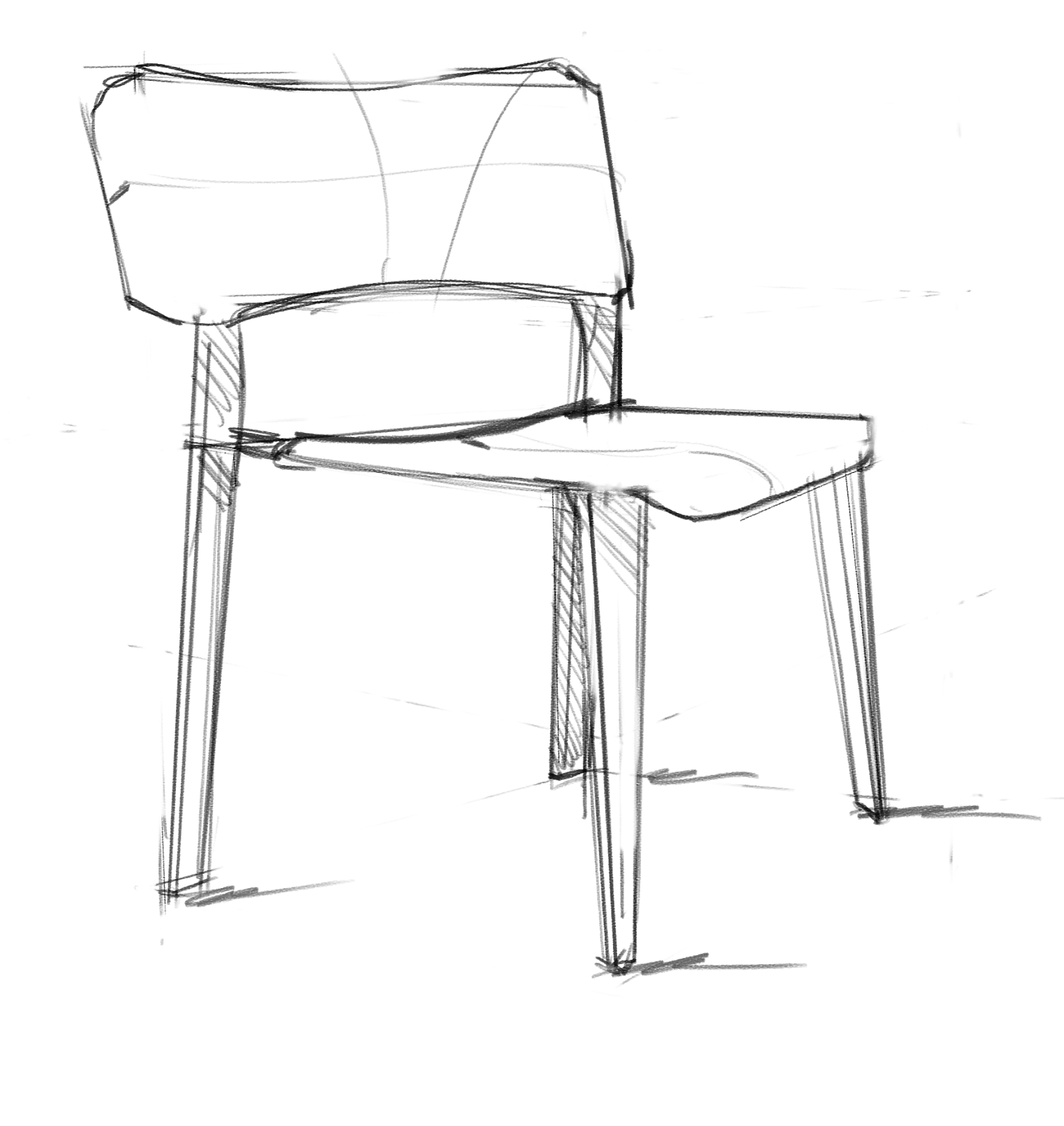 Sketchup Basic Tutorials  Modeling Simple Chair  YouTube