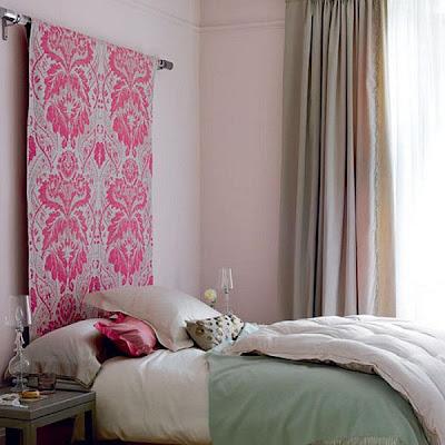Decorar cama sin cabecero
