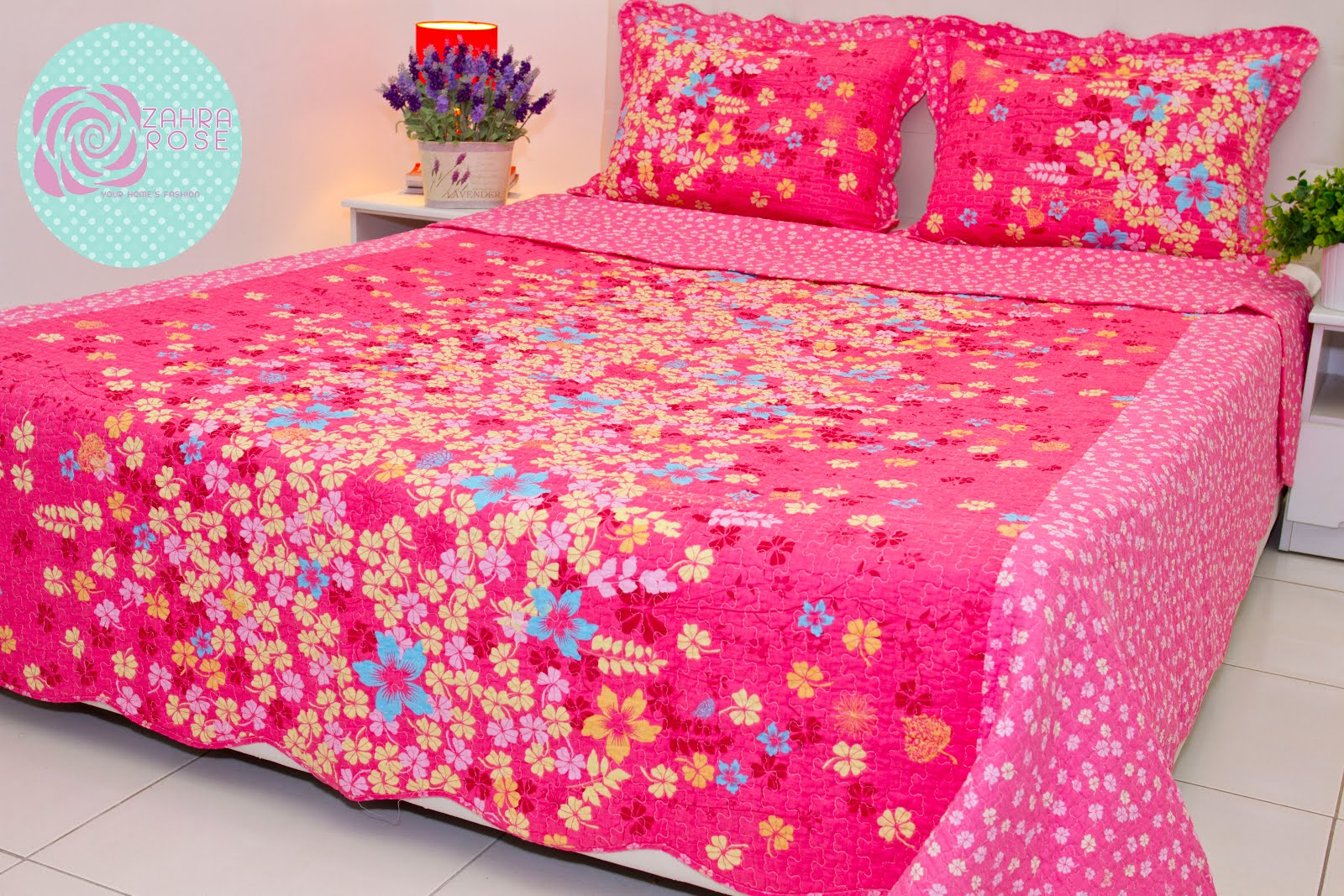 Bed sheets designs patchwork - Zr 014