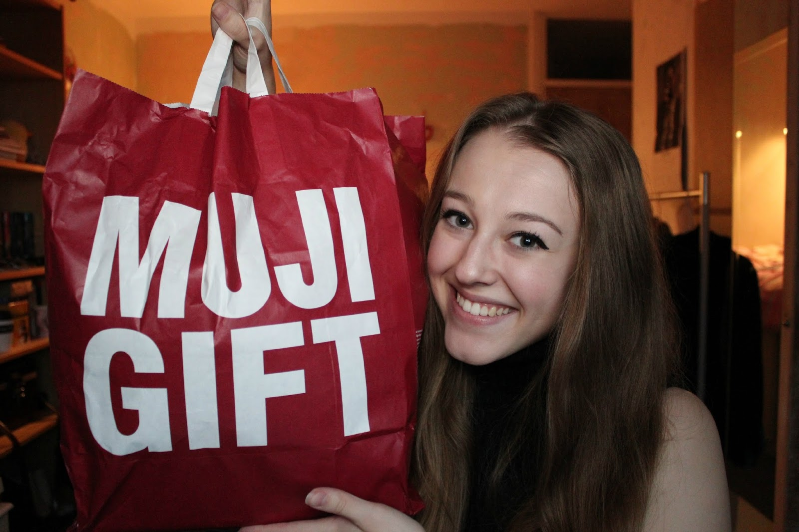 georgie minter-brown, actress, blogger, youth, winter, muji, haul, winter haul, muji haul