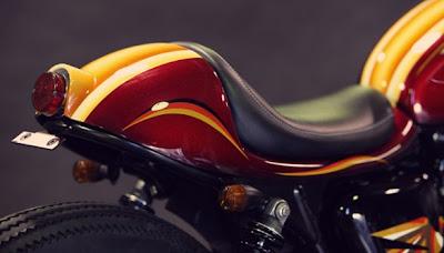 Café Racer Triumph Bonneville by Deus Ex Machina