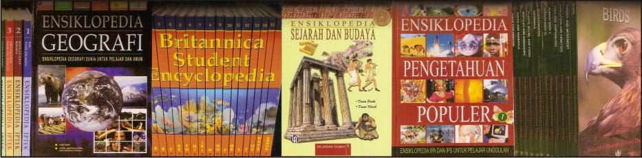 Toko buku ensiklopedia dan buku referensi