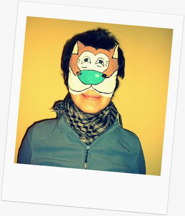 instrucciones mascara yeso carnaval