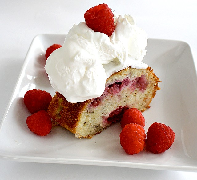 RASPBERRY BUTTERMILK CAKE - Butter With a Side of Bread