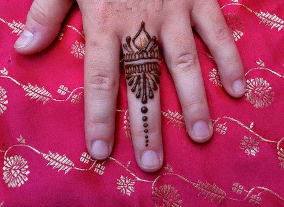 Latest Fingers Mehndi Designs : Bridal mehndi designs latest new fingers design wallpapers