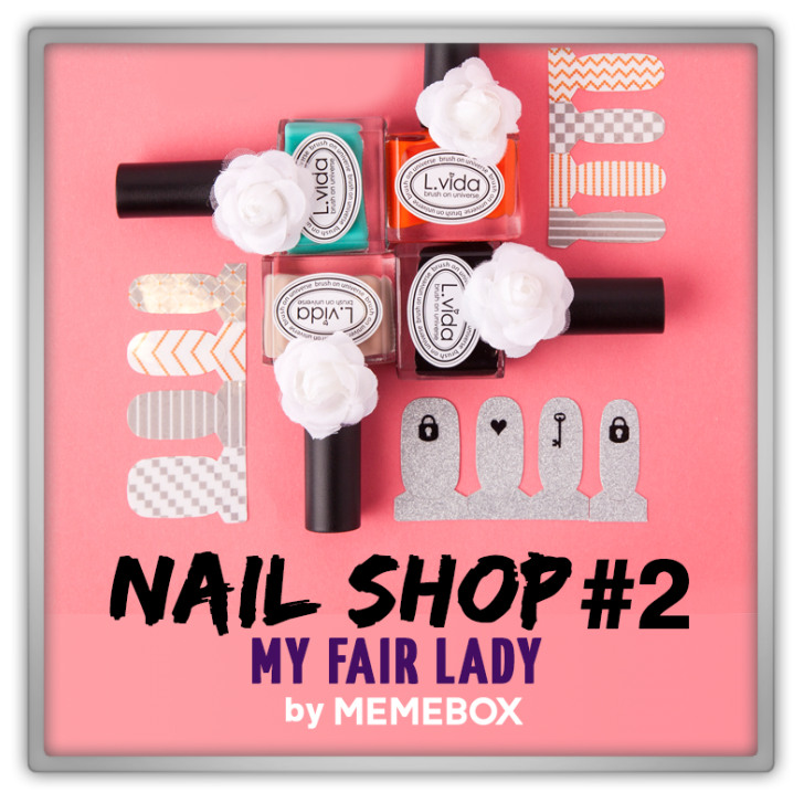 Memebox Nail Shop #2 My Fair Lady 미미박스 Commercial