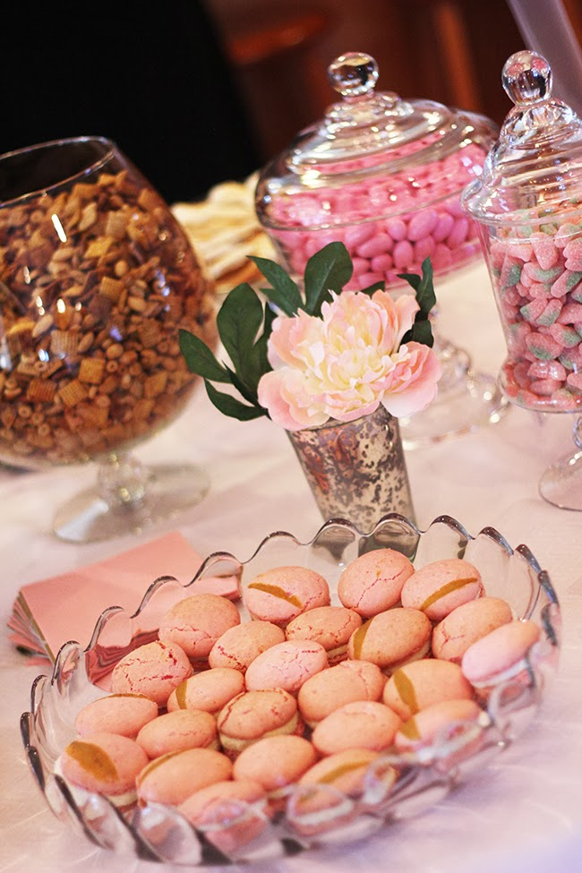Wedding Blog A Pink + Gold Bridal Shower