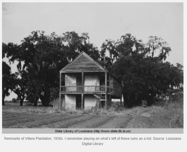 Villere drainage 1930's