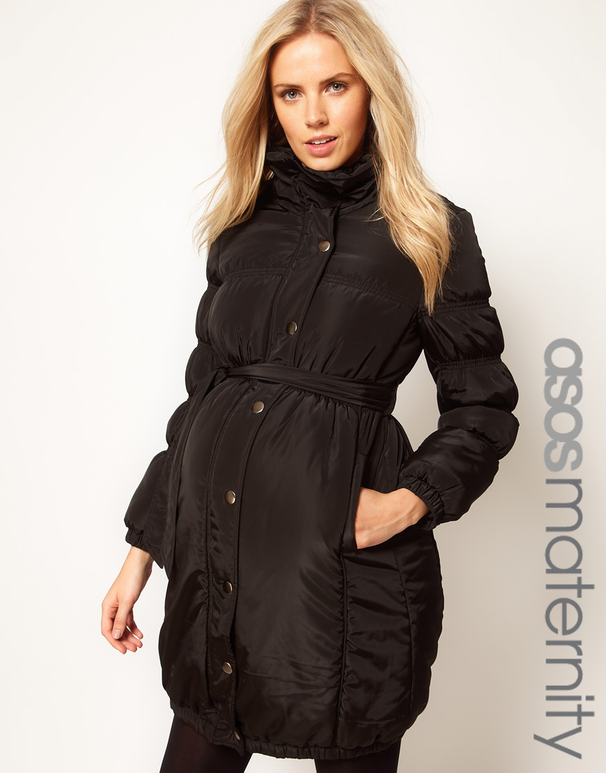 Momo Maternity is known to provide among the best lines in maternity jackets and this Bryn Down coat is not an exception. It is made from polyester and nylon and provides warmth through the winter months while making sure that you stay fashionable and stylish.