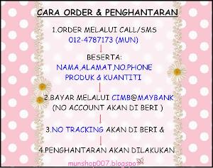 :cara - cara nak order: