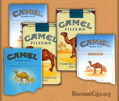 Camel Cigarettes for UK