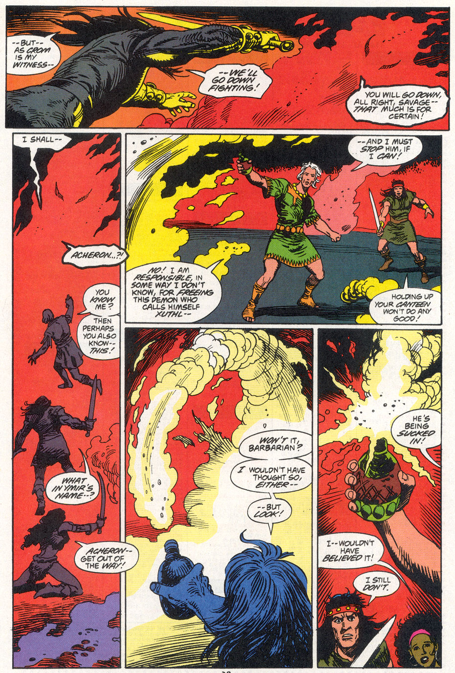 Conan the Barbarian (1970) Issue #270 #282 - English 20