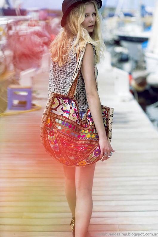 India Style looks moda primavera verano 2014