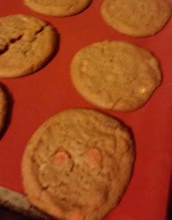 cookies on cookina baking sheet 2
