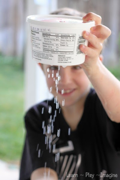 Learn about water pressure with this simple hands on demo.  Kids will be shocked when the water doesn't come out the first time around!  See the trick to get the water flowing.
