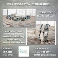 Bydgoszcz warsztat biżuteryjny Bransoletka