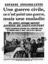 España ensangrenta (Antoine de Saint Exupéry)