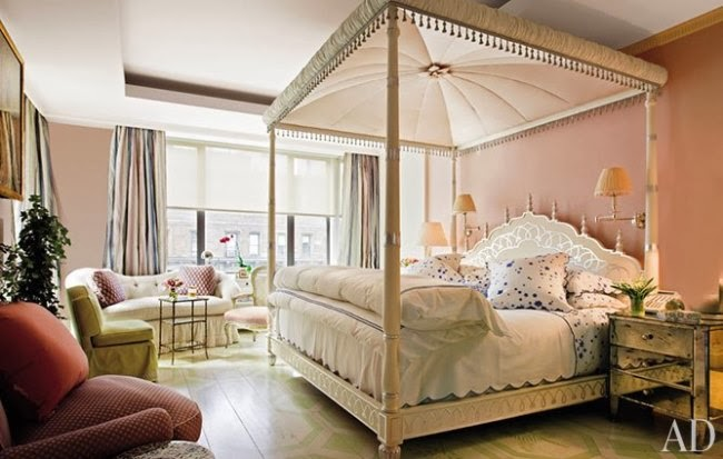 mario buatta elegant bedrooms