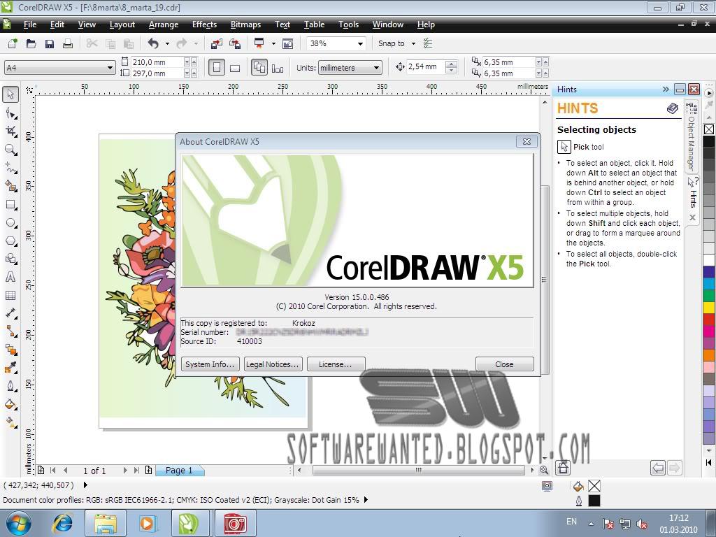 Download Corel Draw Portable X5