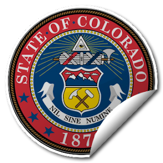 Sticker of Colorado Seal