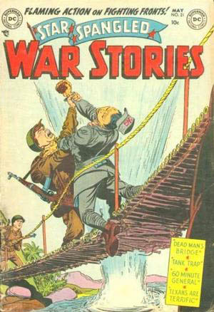Star Spangled War Stories 21 cover