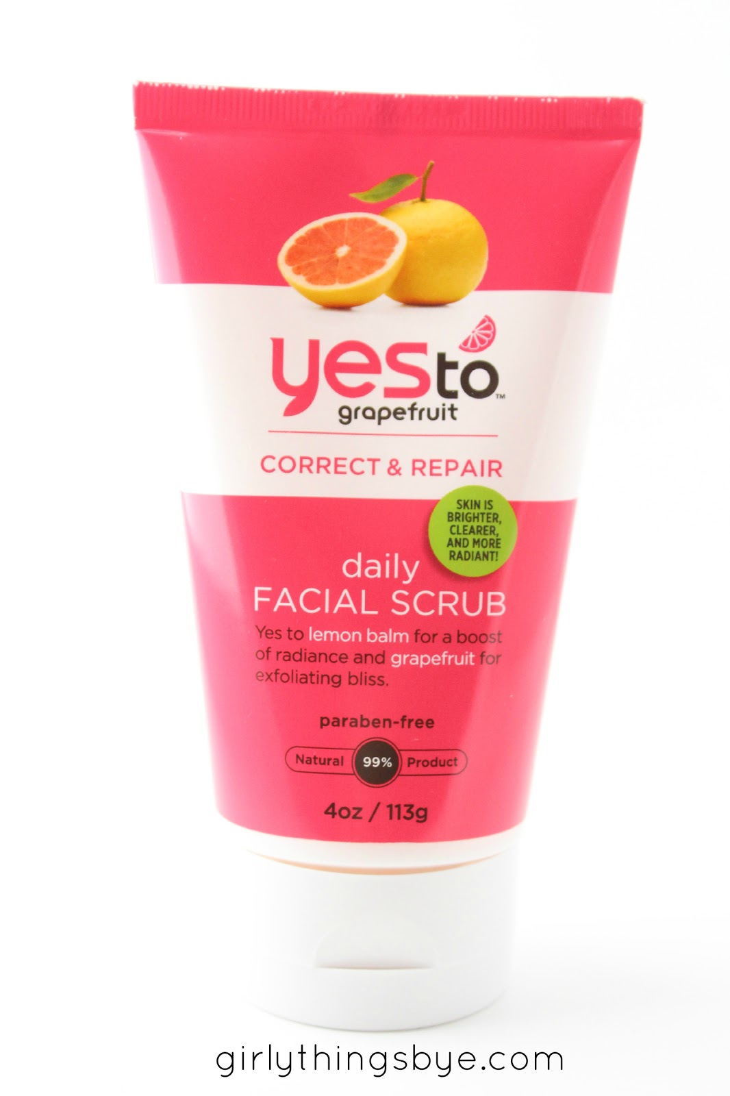 Yes to grapefruit scrub review